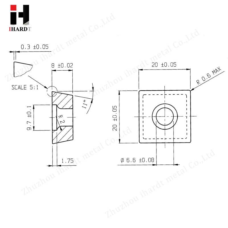 strip edge mill cutter and motor unit cutter wheel milling insert 5